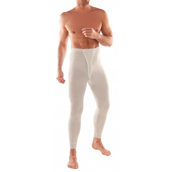 Man Long John brief, Wool...