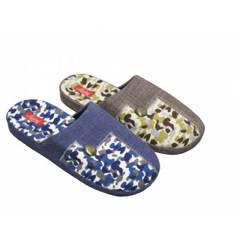 Man slipper washable,...