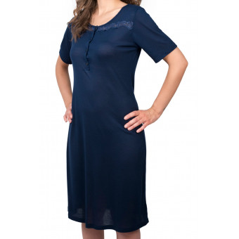 Woman nightdress round neck...