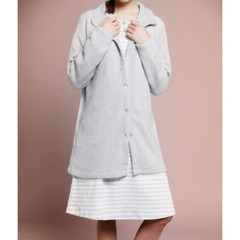 Woman  dressing gown,...