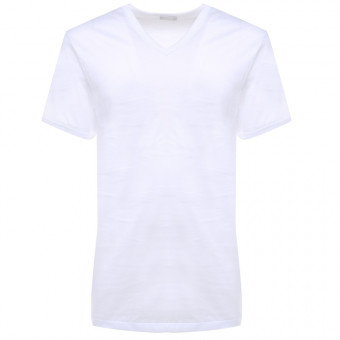 Man T-Shirt V neck short...
