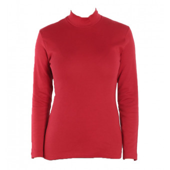 Woman T-Shirt turtle neck,...