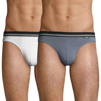 2 Pack Man mid-fit Brief,...