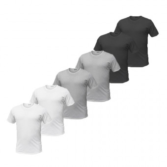 Pack 6 T-shirt Uomo