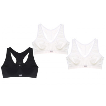 Pack 3 Brassiere LUISE, due...