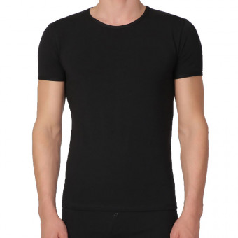 Man T-Shirt low round neck,...