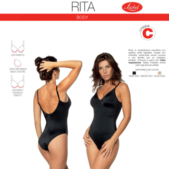 Underwired Body RITA (cup...