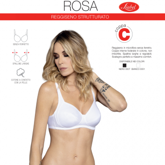 Bra ROSA no wire (cup C...