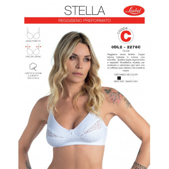Bra STELLA with lace (cup...