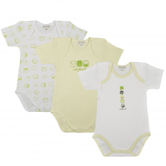 3 Pack Baby Body, short...
