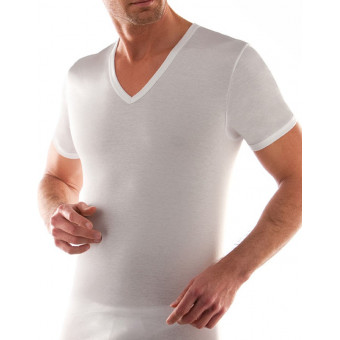 2 Pack Man T-Shirt V neck,...