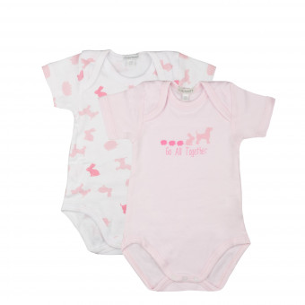 2 Pack Baby Body, short...